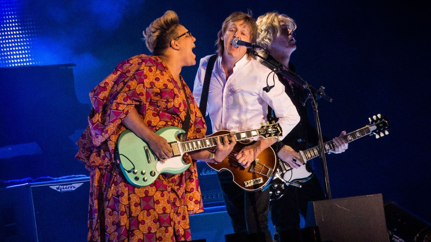 "Paul McCartney y Brittany Howard cantaron ""Get Back"""