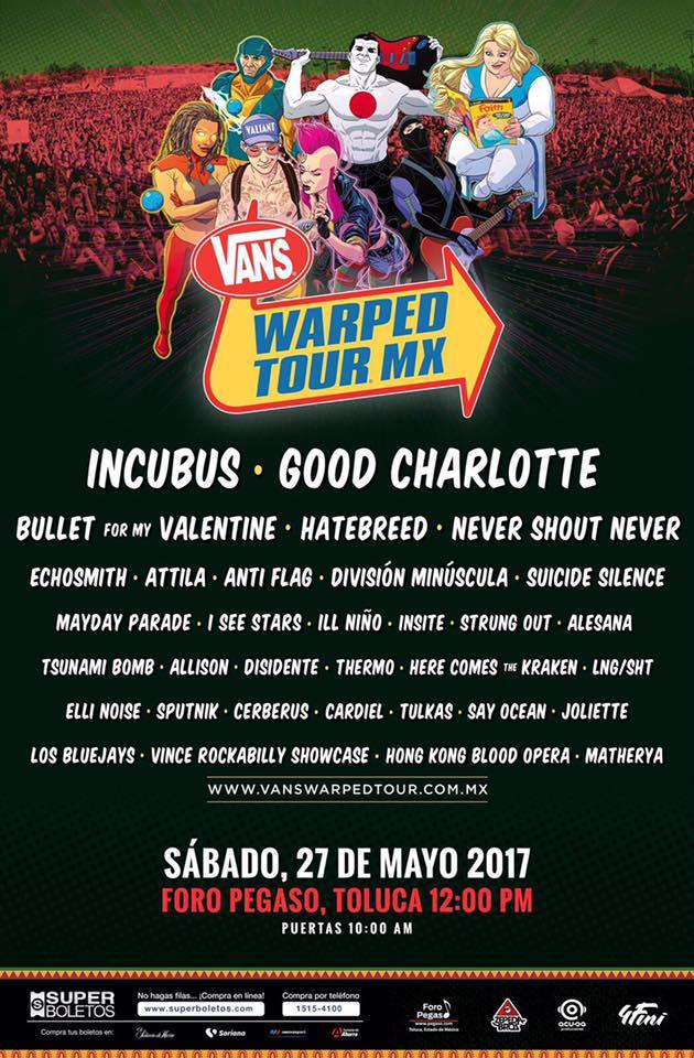 Vans Warped Tour Facebook