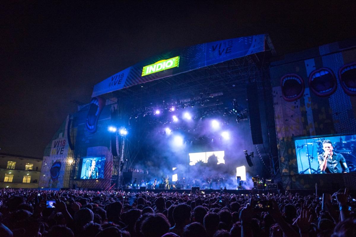 Países poco habituales en el Vive Latino