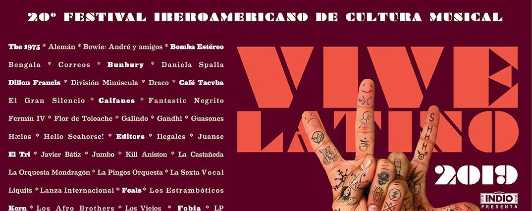 Listo el cartel del Vive Latino 2019